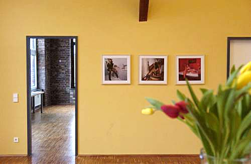 Foto-Ausstellung, Artikel über meine Fotos in der TAZ