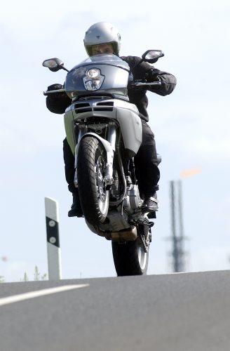 © wim woeber # fŸr Penthouse # 13.07.2003 #  Motorrad Udo Dšrich fŠhrt Ducati Multistrada