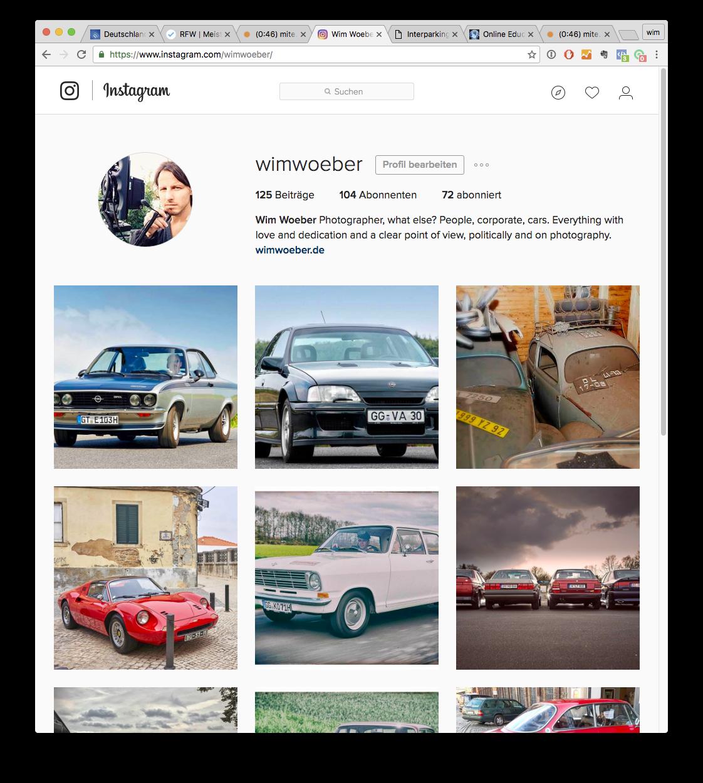 Instagram - der heisse Scheiss für Fotografen?