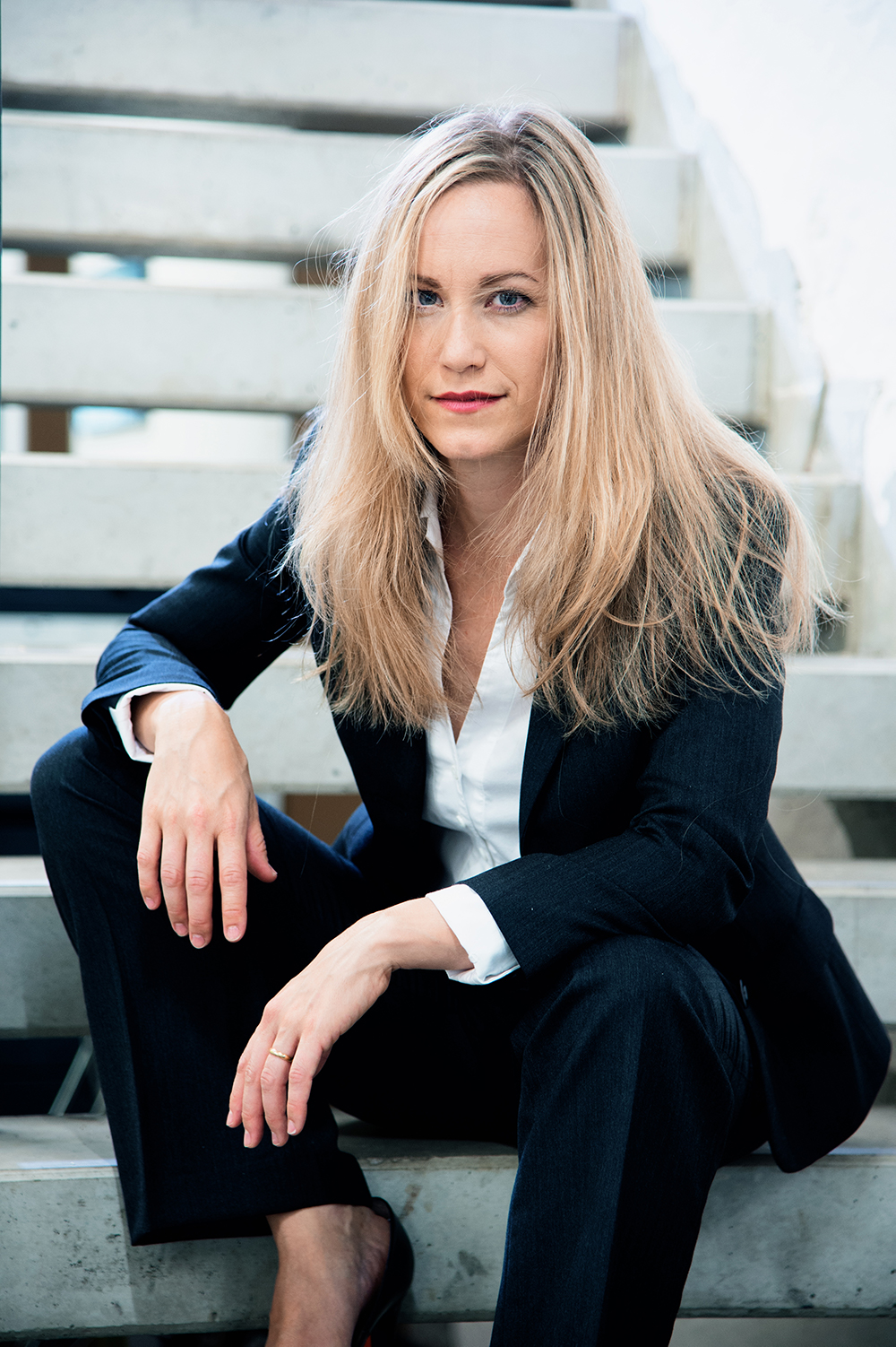 Nadine, Pianistin & Model